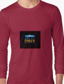 Arctic Embers Logo - Black Long Sleeve T-Shirt