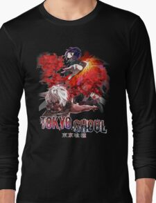 masked explosion with glow  Long Sleeve T-Shirt