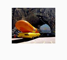 Sometimes a Wienermobile going into a tunnel mural is just a Wienermobile going into a tunnel mural. Unisex T-Shirt