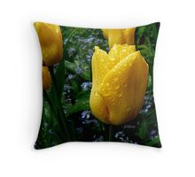 It's raining on my parade! Throw Pillow