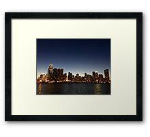Chicago Skyline #2 Framed Print