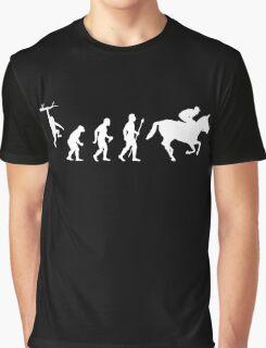Evolution of Man And Jockey Graphic T-Shirt