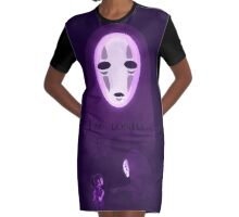 Spirited Away- I'm lonely Graphic T-Shirt Dress