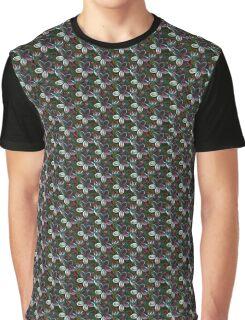 Flower pattern Graphic T-Shirt