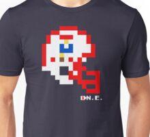 Tecmo Bowl - New England - 8-bit - Mini Helmet shirt Unisex T-Shirt