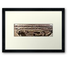 More from the Colosseum  Framed Print