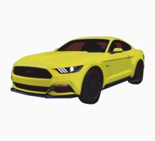 50th Anniversary 2014 1/2 Ford Mustang 5.0 6th Generation Baby Tee