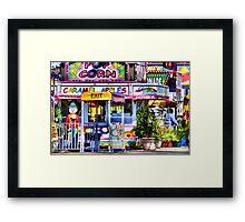 Carnival Goodies Framed Print