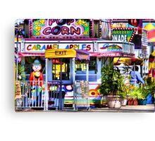 Carnival Goodies Canvas Print