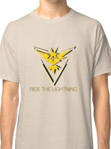 Team Instinct - Ride The Lightning Classic T-Shirt