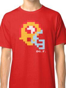 Tecmo Bowl -San Francisco - 8-bit - Mini Helmet shirt Classic T-Shirt