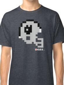 Tecmo Bowl - Oakland - 8-bit - Mini Helmet shirt Classic T-Shirt