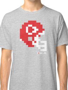 Tecmo Bowl - Kansas City - 8-bit - Mini Helmet shirt Classic T-Shirt