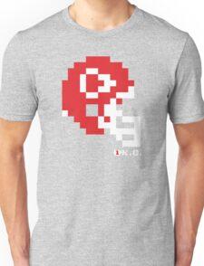 Tecmo Bowl - Kansas City - 8-bit - Mini Helmet shirt Unisex T-Shirt