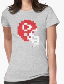 Tecmo Bowl - Kansas City - 8-bit - Mini Helmet shirt Womens Fitted T-Shirt