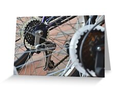 Bikes and Wheels Greeting Card