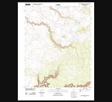 USGS TOPO Map Arizona AZ Red Cornfield Mesa 20111026 TM Unisex T-Shirt