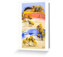 The long wait Greeting Card