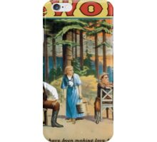 Performing Arts Posters The wolf a play of the Canadian woods by Eugene Walter 1800 iPhone Case/Skin