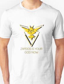 Team Instinct - Zapdos Is Your God Unisex T-Shirt