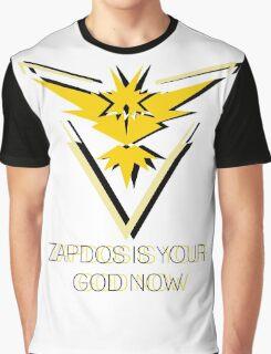Team Instinct - Zapdos Is Your God Graphic T-Shirt