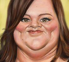 Melissa McCarthy by arievanderwyst