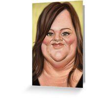 Melissa McCarthy Greeting Card