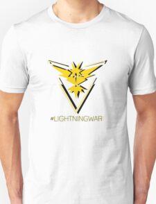 Team Instinct - #lightningwar Unisex T-Shirt