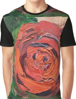 A Red Rose Graphic T-Shirt