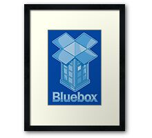 Bluebox Framed Print