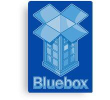 Bluebox Canvas Print