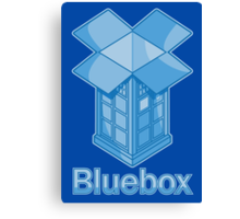 Bluebox Canvas Print