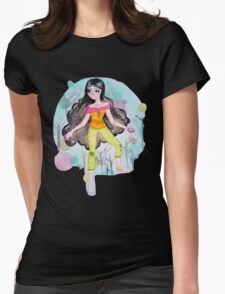 Going in Circles Womens Fitted T-Shirt