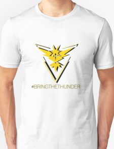 Team Instinct - #bringthethunder Unisex T-Shirt