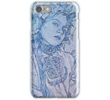 Alphonse Mucha - Figures Dcoratives iPhone Case/Skin
