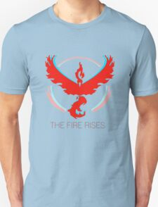 Team Valor - The Fire Rises Unisex T-Shirt