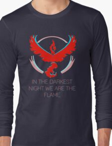 Team Valor - The Darkest Night Long Sleeve T-Shirt