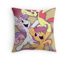 Cutie Mark Crusaders: Acrobats! Throw Pillow