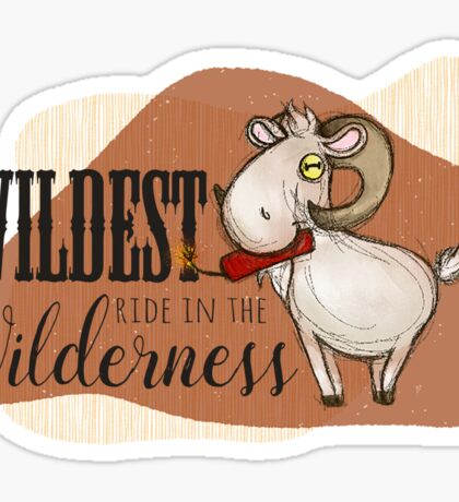 Dyna the Goat Sticker