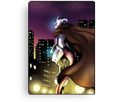 Mewtwo scenery T-shirt Canvas Print