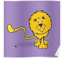 funny zodiac/leo Poster