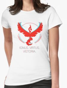Team Valor - Ignus, Virtus, Vistoria Womens Fitted T-Shirt