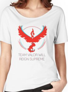Team Valor - Team Valor Will Reign Women's Relaxed Fit T-Shirt