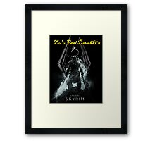 Skyrim: Zu'u Faal Dovahkiin (I am The Dragonborn) Framed Print