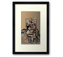 First Aid Framed Print