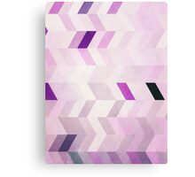 Abstraction #102 Purple Parallelogram Canvas Print