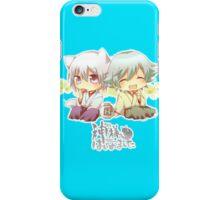 kamisama chibis iPhone Case/Skin