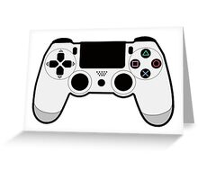 PS4 Controller Greeting Card