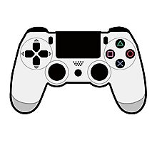 PS4 Controller Photographic Print
