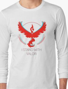 Team Valor - Stand With Valor Long Sleeve T-Shirt